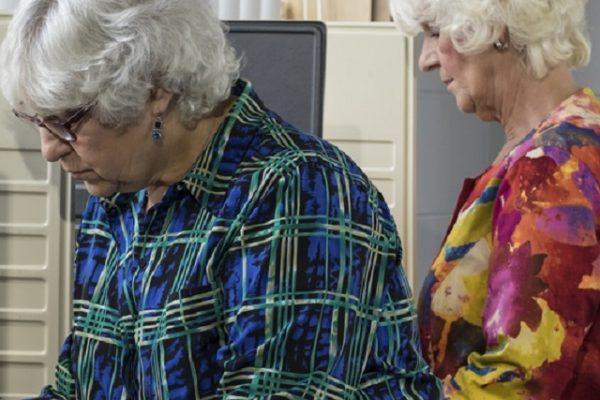 Stemmen met dementie